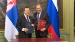 Dačić sa Lavrovom: Srbija ne može sama da zaštiti svoje državne interese (VIDEO)