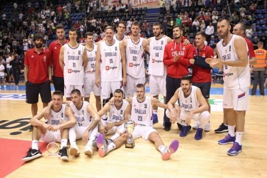 Košarkaški Srbije osvojili pripremni Superkup u Nemačkoj
