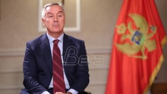 Đukanović doneo ukaz o opozivu ambasadora
