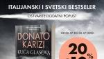 Novi roman Donata Karizija Kuća glasova u pretprodaji po specijalnoj ceni!