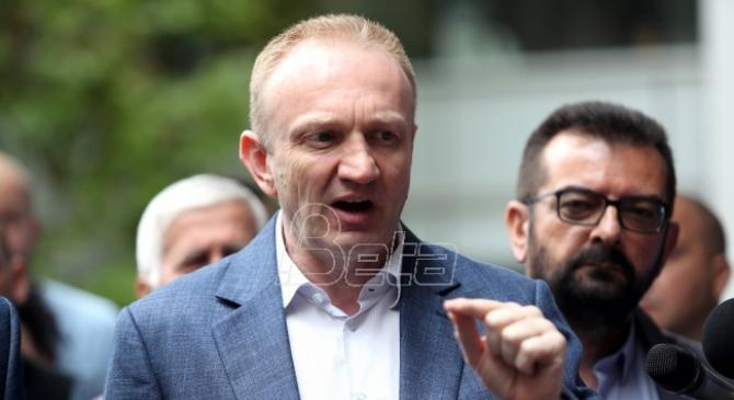 Djilas: Medijski napisi da sam povezan sa aferom Reket u Makedoniji budalaštine