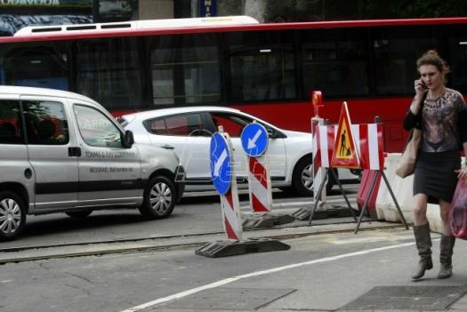 Leva strana beogradskog Bulevara oslobodjenja puštena u saobraćaj