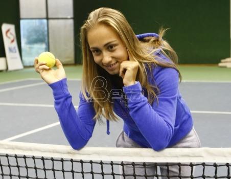 Aleksandra Krunić u finalu Mančestera