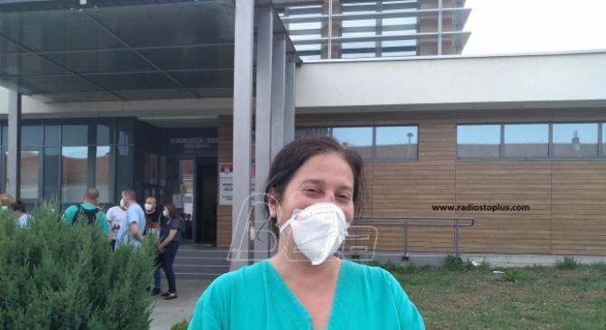 Anesteziolog Kraljevčanka na privremenom radu u novopazarskoj Kovid bolnici