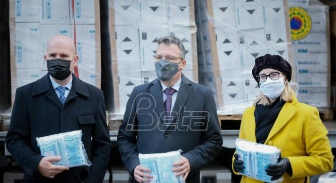 EU podrška: Slovenija pomaže Srbiji u borbi protiv pandemije