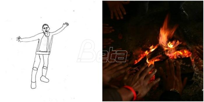 Izložba fotografija i crteža dvojice Avganistanaca od večeras u Beogradu