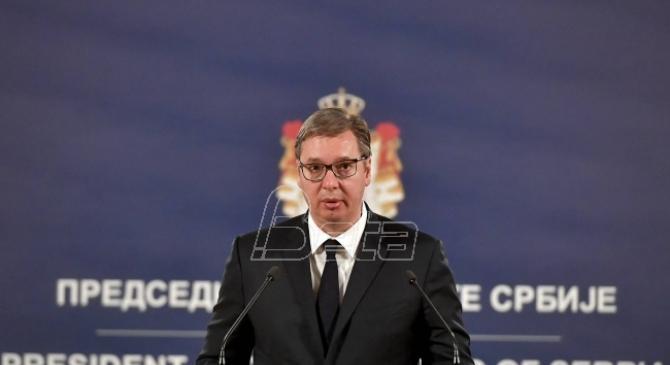 Vučić: Danas će biti težak dan po broju preminulih