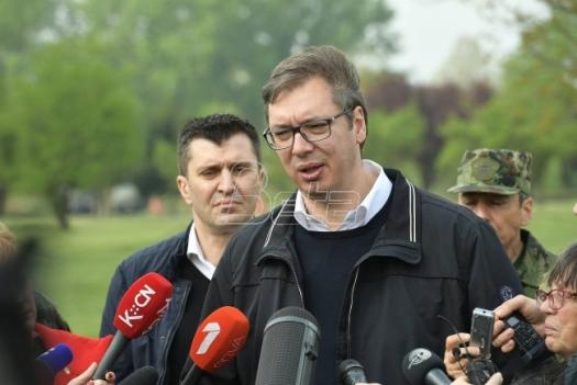 Aleksandar Vučić: Protestujte dokle hoćete. Sve dok je mirno, možete da šetate još deset godina