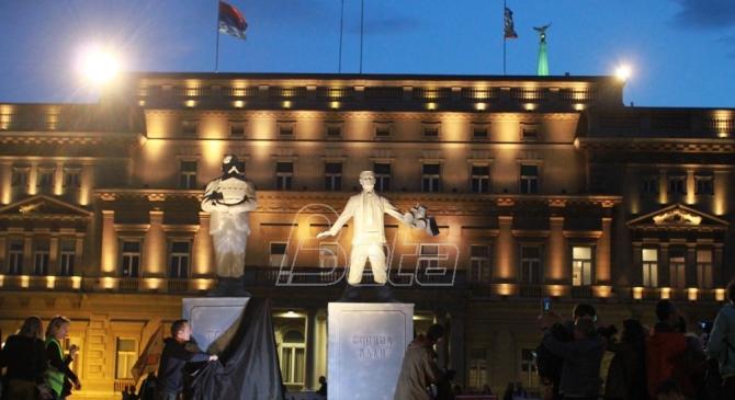 Protest: Vesić i Mali ne zaslužuju Beograd