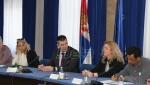 Djordjević sa predstavnicima sindikata Republičkog geodetskog zavoda