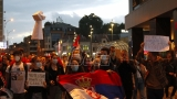 Nišlije protestuju i sedme večeri, skandiraju 'Kosovo je srce Srbije!'