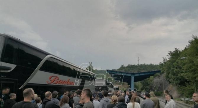 RTS: Autobusi se vratili sa Jarinja jer im nije dozvoljen ulaz na Kosovo