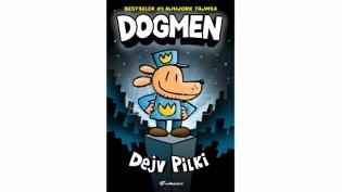 Dečji bestseler broj 1 na listi Njujork tajmsa, Dogmen, u prodaji!