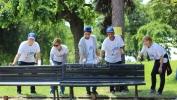 Migranti i volonteri iz Beograda zajedno ulepšali Kalemegdanski park