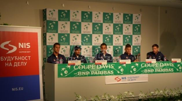 Lajović i Puj otvaraju duel polufinala Dejvis kupa
