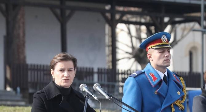 Premijerka Srbije Ana Brnabić izviždana na obeležavanju Dana državnosti uz povike izdaja