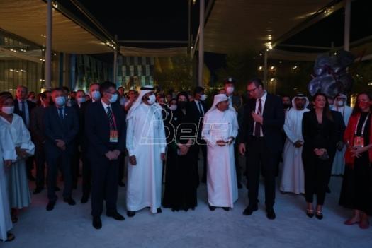 Vučić opened the Serbian pavilion at the World Exhibition Expo 2020 Dubai