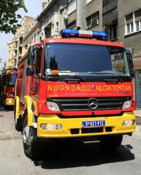 Požar u fabrici kartona: Dvoje teško povredjeno