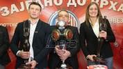 Majdov najbolji sportista, a Dabetićova sportistkinja Zvezde