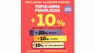 Popularna psihologija na specijalnoj sajamskoj akciji