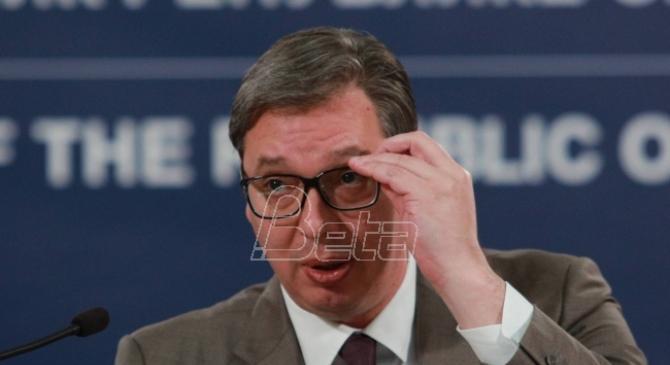 Vučić: Konstruktivniji pristup Prištine važan za sve; Neodgovorno ponašanje Kurtija nije dobro