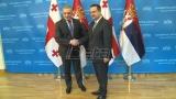 Dačić i Volski:  Saradnja Srbije i Gruzije na visokom političkom nivou