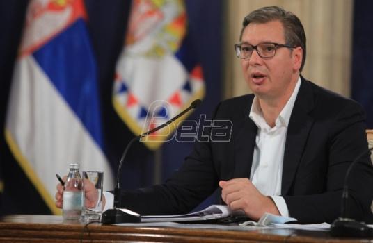 Vučić: Tražićemo hitno i trajno obustavljanje radova u blizini Visokih Dečana