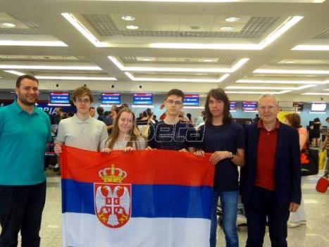Učenici iz Srbije osvojili četiri medalje na Medjunarodnoj hemijskoj olimpijadi