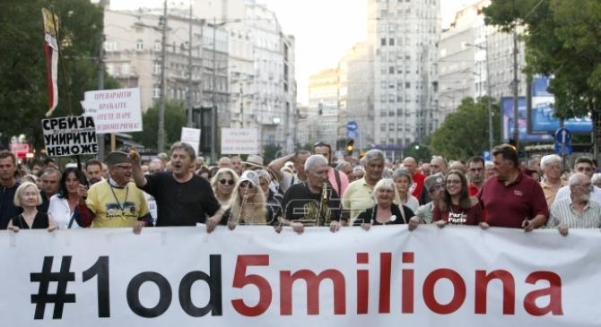 Jedan od pet miliona: Celokupna opozicija da napusti okrugle stolove i proglasi bojkot izbora