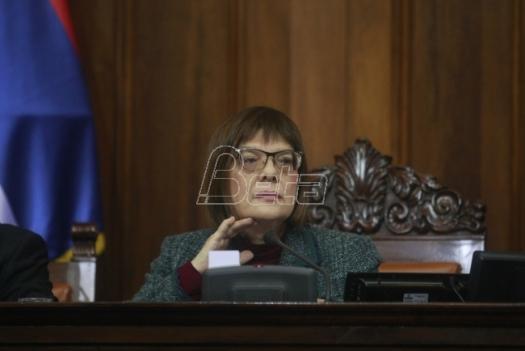 Maja Gojković: Nastavak sednica parlamenta kada se stvore uslovi za rad