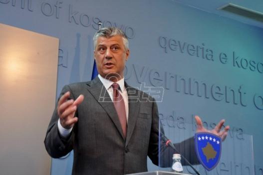 Hašim Tači: Kosovo je faktor stabilnosti u regionu