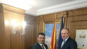 Djilas se večeras sastao sa Zaevom u Skoplju