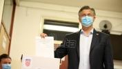HDZ pobedio u osam izbornih jedinica, SDP samo u Istri, na severnom primorju i na severozapadu