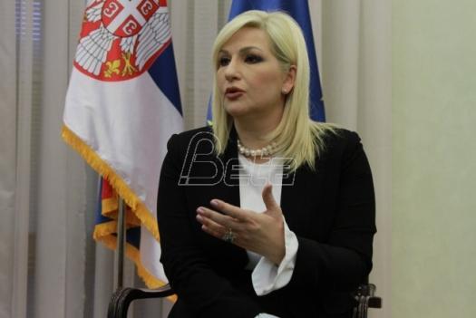 Zorana Mihajlović: Avion Er Srbije da se nazove po Zdravku Čoliću