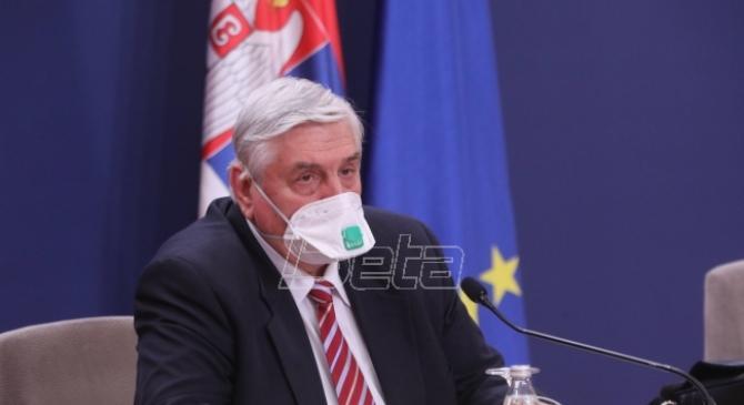 Tiodorović: Ako potraje sadašnja brzina vakcinacije, krajem proleća smirivanje situacije