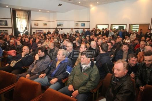 Radnici Goše 85. dan u štrajku