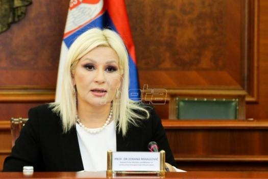 Mihajlović: Zakon o rodnoj ravnopravnosti je zakon budućnosti i moderne Srbije
