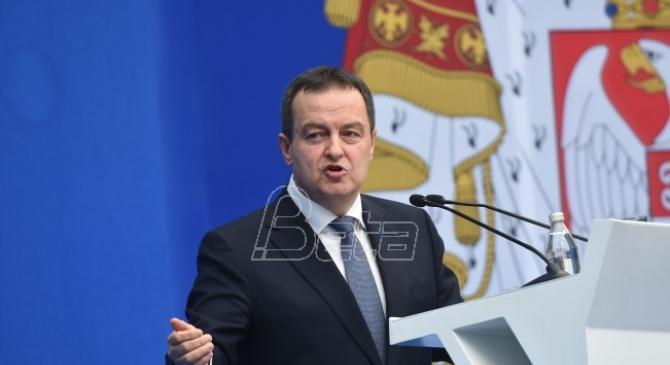Dačić: Nagadja se o dvostrukom suverenitetu, koji je za Srbiju neprihvatljiv