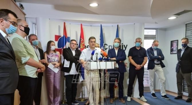 Formirana Udružena opozicija Srbije, cilj smena bahatog režima zasnovanog na samovlji jednog čoveka  (VIDEO)