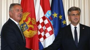Vlada Hrvatske podržava suvernost Crne Gore i njen evropski put