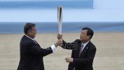 Olimpijski plamen predat organizatorima ZOI u Pjongčangu (VIDEO)