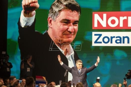 Zoran Milanović novi predsednik Hrvatske