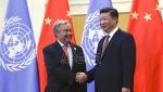 Si Djinping preneo Guterešu: Kina odlučno podržava ključnu ulogu UN