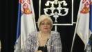 Jorgovanka Tabaković: Radim po savetu Vučića koji me je predložio i verovao u mene