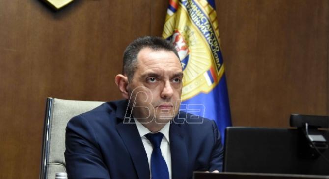 Vulin: Grupe Belivuka i Zvicera mogu da destabilizuju državu uklanjanjem Vučića