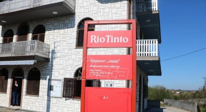 NVO: Sukobili se meštani Jadra i predstavnici kompanije Rio Tinto