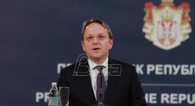 Varheji (EU): Očekujem poštene izbore u Srbiji