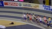 Elzan Bibić u finalu trke na 1.500 metara na EP za mladje seniore