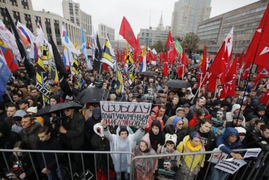 Oko 20.000 ljudi na protestu opozicije u Moskvi