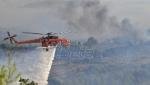 Grčka: Vatrogasci se bore sa požarima u Olimpiji i na Eviji (VIDEO)